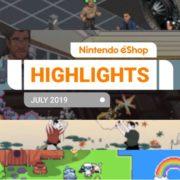 『Nintendo eShopハイライト 2019年7月号』がNintendo of Europeから公開!