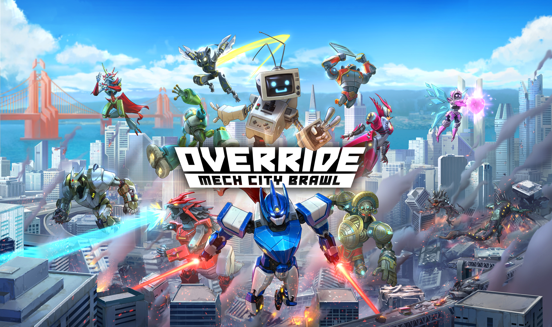 Switch版『Override: Mech City ...