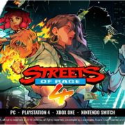 『Streets of Rage 4』の対応プラットフォームがPS4&Xbox One&Switch&PCに決定!