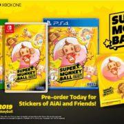 PS4&Switch用ソフト『たべごろ!スーパーモンキーボール』の海外ゲームプレイ トレーラーが公開!