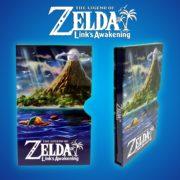 『ゼルダの伝説 夢をみる島』の美しい「メタリックスリップケース」のサンプルがNovoboxから公開!