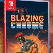 PS4&Switch版『Blazing Chrome』のパッケージ版がLimited Run Gamesから発売決定!