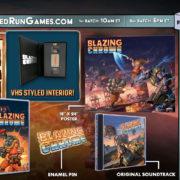 PS4&Switch版『Blazing Chrome』の海外パッケージ版の詳細が公開!