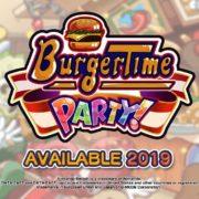 Switch用ソフト『バーガータイムパーティー』のプロモーション動画が公開!