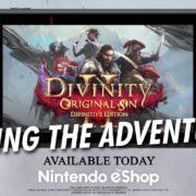 Switch版『Divinity: Original Sin 2 Definitive Edition』が海外向けとして2019年9月5日から配信開始!海外製のターンベースのシミュレーションRPG