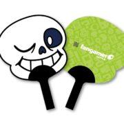 「東京ゲームショウ2019」でFangamerグッズを購入した方にプレゼントされる「UNDERTALE サンズうちわ(紙製)」が公開!