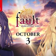 Nintendo Switch版『Fault: Milestone One』の配信日が2019年10月3日に決定!