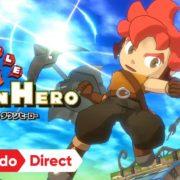 【更新】Switch用ソフト『リトルタウンヒーロー』は10月17日配信決定!住人の助けを得ながら敵と戦う新感覚RPG