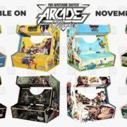 Microidsが「Nintendo Switch Arcade Mini」モデルの最初のシリーズを発表!