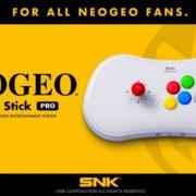 NEOGEO miniに続く新たなNEOGEOのハードウェア『NEOGEO Arcade Stick Pro』が発売決定!