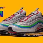 """『Nike Air Max 97 """"Nintendo 64""""』が2019年9月25日に発売!"""