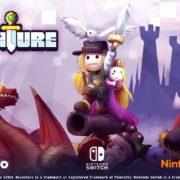 Switch版『Reventure』の海外配信日が2019年10月8日に決定!100種類のエンディングが存在する横スクロール型の2Dアクションアドベンチャーゲーム