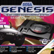 「Sega Genesis Mini」と「メガドライブミニ 3ボタンコントロールパッド」の予約が開始!
