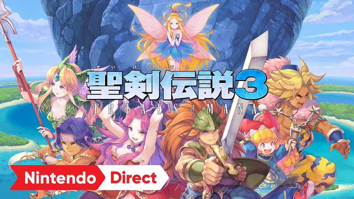 フルリメイク作『聖剣伝説3 TRIALS of MANA』の国内発売日が2020年4月24日に決定!
