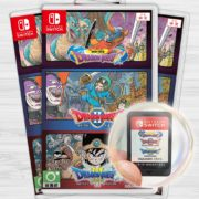 Switchパッケージ版『ドラゴンクエスト 1+2+3 コレクション』のゲームカードが公開!