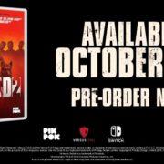 Switch版『Into the Dead 2』が海外向けとして2019年10月25日から配信開始!アーケードスタイルのゾンビシューター