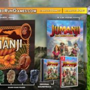 PS4&Xbox One&Switch版『JUMANJI: The Video Game』のパッケージ版の予約がLimited Run Gamesで開始!