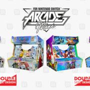 Microidsが「Nintendo Switch Arcade Mini」モデルのラインナップ続報を発表!