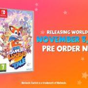 Switch用ソフト『New Super Lucky's Tale』のパッケージ版がヨーロッパ向けとして発売決定!