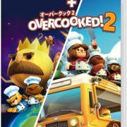 Switch向けパッケージ版『オーバークック スペシャルエディション + オーバークック2』の国内ボックスアートが公開!