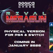 PS4&Switch版『ライバル・メガガン』のパッケージ版が海外向けとして2020年1月に発売決定!