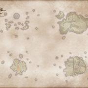 『アライアンス・アライブ HDリマスター』の公式サイトにワールドマップの白地図が掲載!