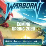 PS4&Xbox One&Switch&PC用ソフト『Warborn』の海外発売日が2020年春に延期に!!ロボットアニメーションスタイルのシミュレーションゲーム