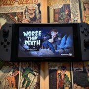 PS4&Xbox One&Switch&PC用ソフト『Worse Than Death』が海外向けとして2019年10月8日に配信決定!ピクセルアートのホラー系アクションアドベンチャーゲーム