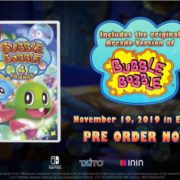 Switch用ソフト『Bubble Bobble 4 Friends』のAnnouncement Trailer 2019が公開!