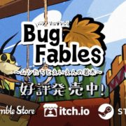 PS4&Xbox One&Switch版『Bug Fables ~ムシたちとえいえんの若木~』の発売日が2020年5月28日に決定!