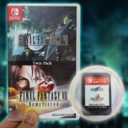 【更新】Switchパッケージ版『FINAL FANTASY VII & FINAL FANTASY VIII Remastered  Twin Pack』の商品写真が公開!