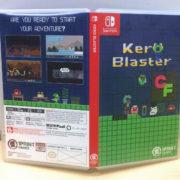 Switch向けパッケージ版『Kero Blaster』のカバー&リバーシブルカバーが公開!