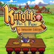Switch用ソフト『Knights of Pen and Paper +1 Deluxier Edition』の国内配信日が2019年11月21日に決定!
