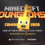 PS4&Xbox One&Switch&PC用ソフト『Minecraft Dungeons』の発売日が2020年4月に決定!古典的なダンジョンクローラーにインスパイアされたアクションアドベンチャーゲーム