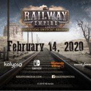 『Railway Empire – Nintendo Switch Edition』が海外向けとして2020年2月14日に発売決定!人気の鉄道シミュレーションゲームがSwitchに登場