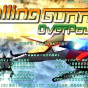 『Rolling Gunner (ローリングガンナー)』の追加コンテンツ「Rolling Gunner Over Power」の追加情報が公開!