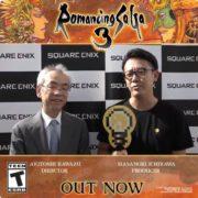 HDリマスター版『ロマンシング サガ3』の発売を記念して河津さんと市川さんからの短いメッセージ動画が公開!