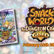 Switch版『スナックワールド トレジャラーズ ゴールド』が海外向けとして2020年2月14日に発売決定!