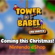 Switch版『Tower of Babel』の海外配信時期が2019年12月に決定!物理ベースのマルチプレイヤータワービルディングゲーム