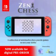 Switch用ソフト『Zen Chess Collection』が海外向けとして2019年11月12日に配信決定!