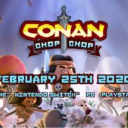 PS4&Xbox One&Switch&PC用ソフト『Conan Chop Chop』の海外発売日が2020年2月25日に決定!