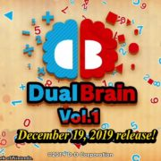Switch版『Dual Brain Vol.1: Calculation』が海外向けとして2019年12月19日に配信決定!対戦脳トレゲーム