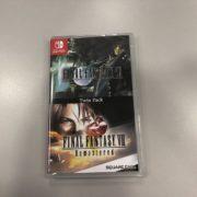 Switchパッケージ版『FINAL FANTASY VII & FINAL FANTASY VIII Remastered  Twin Pack』の開封動画が公開!