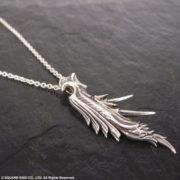 『ファイナルファンタジーVII』より片翼の天使「セフィロス」をイメージした「シルバーペンダント」と「シルバーリング」の再受注が開始!