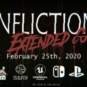 PS4&Xbox One&Switch版『Infliction』の配信日が2020年2月25日に決定!