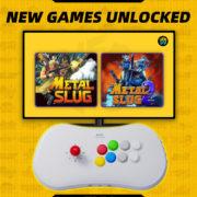 『NEOGEO Arcade Stick Pro』の隠しゲーム「メタルスラッグ」「メタルスラッグ2」のアンロック方法が公開!