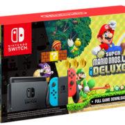 カナダで「Nintendo Switch本体」と『New スーパーマリオブラザーズ U デラックス』のバンドルパックがリリース!