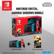 東南アジアで「Nintendo Switch本体」と『SAMURAI SPIRITS』のバンドルパックが発売決定!
