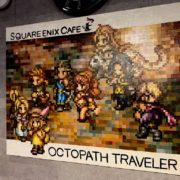 SQUARE ENIX CAFEに展示中の『オクトパストラベラー』油絵メイキング動画が公開!