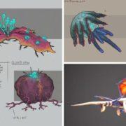『パンツァードラグーン:リメイク』のコンセプトアートが公式Twitterアカウントで共有!